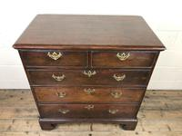 Antique Georgian Oak Chest of Drawers (5 of 10)
