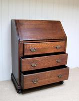 Solid Oak Bureau (3 of 6)
