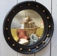 English Porthole Butlers Convex Mirror