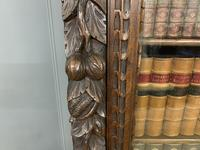 Imposing Carved Oak Bookcase (9 of 23)