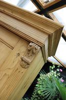 Gorgeous Old Stripped Pine Cupboard / Cabinet / Wardrobe - Hall / Linen / Larder (5 of 11)