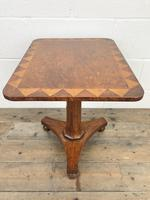 Antique Inlaid Mahogany Side Table (2 of 7)