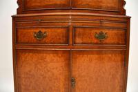 Antique Georgian Style Burr Walnut Cabinet (11 of 11)
