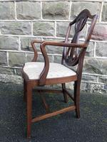 Antique Mahogany Desk Chair (4 of 6)