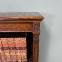 Quality Arts & Crafts Victorian Oak Large Open Bookcase (3 of 6)