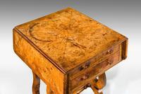 Regency Period Amboyna Work Table (2 of 8)