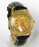 Gents 1950s Eldor Geneve Triple Date Wrist Watch (2 of 5)