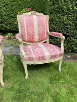 Pair of Large Painted Armchairs (9 of 9)