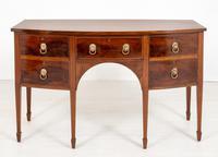 Regency Style Mahogany Bow Sideboard (5 of 8)