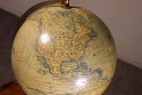 Terrestial Globe From J.lebègue & Cie Circa 1890 From Paris (2 of 12)