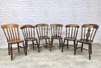 Interesting Assortment of 6 Windsor Kitchen Chairs (3 of 8)