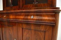 Antique French Walnut Bookcase on Cupboard (6 of 11)