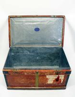 WW1 Era Marshall Campaign Chest / Trunk, Labels & Provenance (10 of 23)