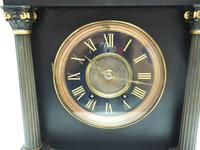 Amazing French Slate 8 Day Striking Heavy Quality Mantle Clock (12 of 12)