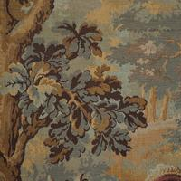Antique Verdure Tapestry, French, Decorative Panel, Wall Covering, Victorian (5 of 12)