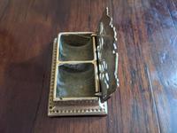 Art Nouveau Brass Stamp Tidy (3 of 4)