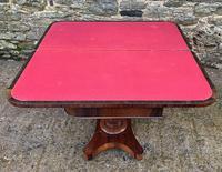 Regency Rosewood Card Table (9 of 24)