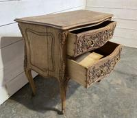 Stylish French Bleached Oak Commode Chest (7 of 20)