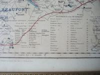 19th Century Fox-hunting Map of Gloucestershire by J & C Walker (4 of 4)