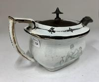 Regency Pearlware Pottery Toy Tea Pot circa 1815 (7 of 11)