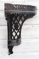 Aesthetic Movement, pierce-work corner shelves with galleries (a pair) c.1880 (35 of 35)
