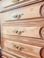 French Vintage Chest of Drawers / Antique Style Washstand / Marble Chest (5 of 9)