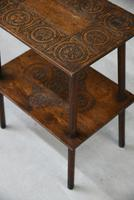 Small Oak Two Tier Table (13 of 16)