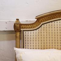 Louis XVI Style Bed with Upholstered Panels (6 of 10)