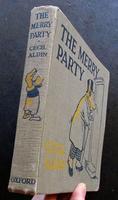 1918 Scarce 1st Edition Cecil Aldin The Merry Party
