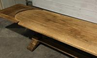 Large Oak Farmhouse Table with Extensions (24 of 30)