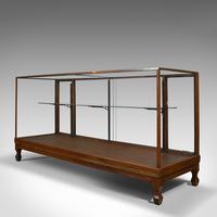 Antique Haberdashery Cabinet, Mahogany, Glass, Museum Showcase, Edwardian, 1910 (2 of 9)
