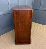 Victorian Tall Mahogany Chest of Drawers (7 of 12)