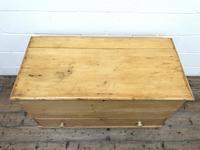 Large 19th Century Pine Chest (2 of 8)