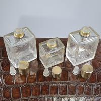 Exceptional Asprey HM Silver Gilt Fittings in Leather Case c.1935 (12 of 27)