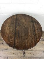 Antique George III Oak Tripod Table (2 of 6)