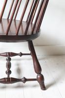 Victorian Scottish Darvel High Comb-backed Windsor Chair, Late 19th Century (23 of 31)