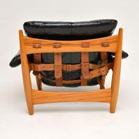"Vintage ""Sheriff"" Leather Armchair by Sergio Rodrigues for ISA (6 of 12)"