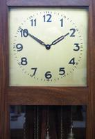 English Art Deco Longcase Clock Musical 8 Day Westminster Chime Grandfather Clock (6 of 12)
