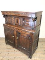 17th Century Welsh Oak Cwpwrdd Deuddarn (5 of 10)