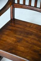 Antique Victorian Mahogany Rocking Chair (11 of 12)