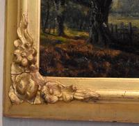Victorian Oil Painting of Charlecote Park (4 of 9)