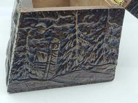 Antique Russian Wood Box with Basma Abramtsevo - Very Large (7 of 13)