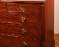 English Mahogany Chest of Drawers Early 19th Century (4 of 10)