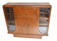 Vintage Art Deco Drinks Cabinet 1930s Furniture (6 of 10)