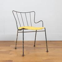 Early Ernest Race Antelope Chair Yellow (6 of 14)