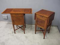Pair of Thuya Wood Bedside Cabinets (4 of 13)