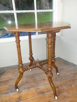 English 19thc Walnut Table. (3 of 7)