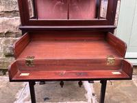 Antique Mahogany Display Music Cabinet (7 of 9)