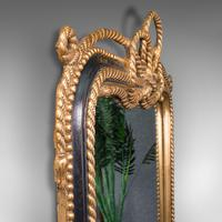 Very Large Antique Wall Mirror, English, Gilt, Overmantel, Dressing, Regency (8 of 12)