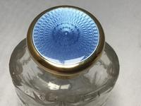 Silver Gilt and Blue Enamel Perfume Bottle (4 of 5)